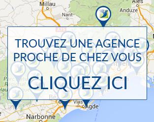 carte agences présence Verte Services