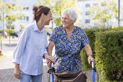 Promenade personnes âgées
