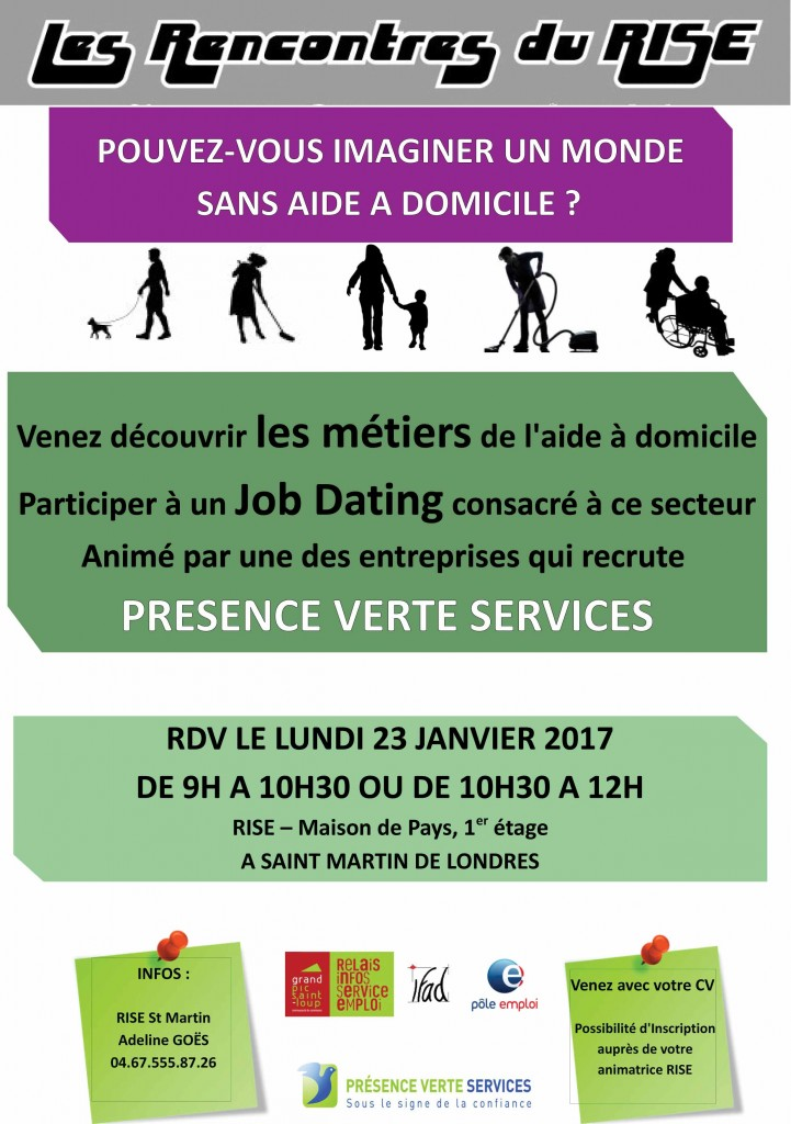 job datings SAINT MARTIN DE LONDRES