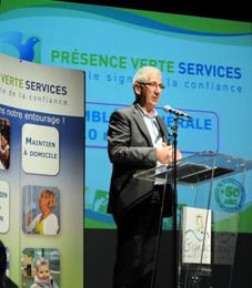 Jack GAUFFRE Président Présence Verte Services