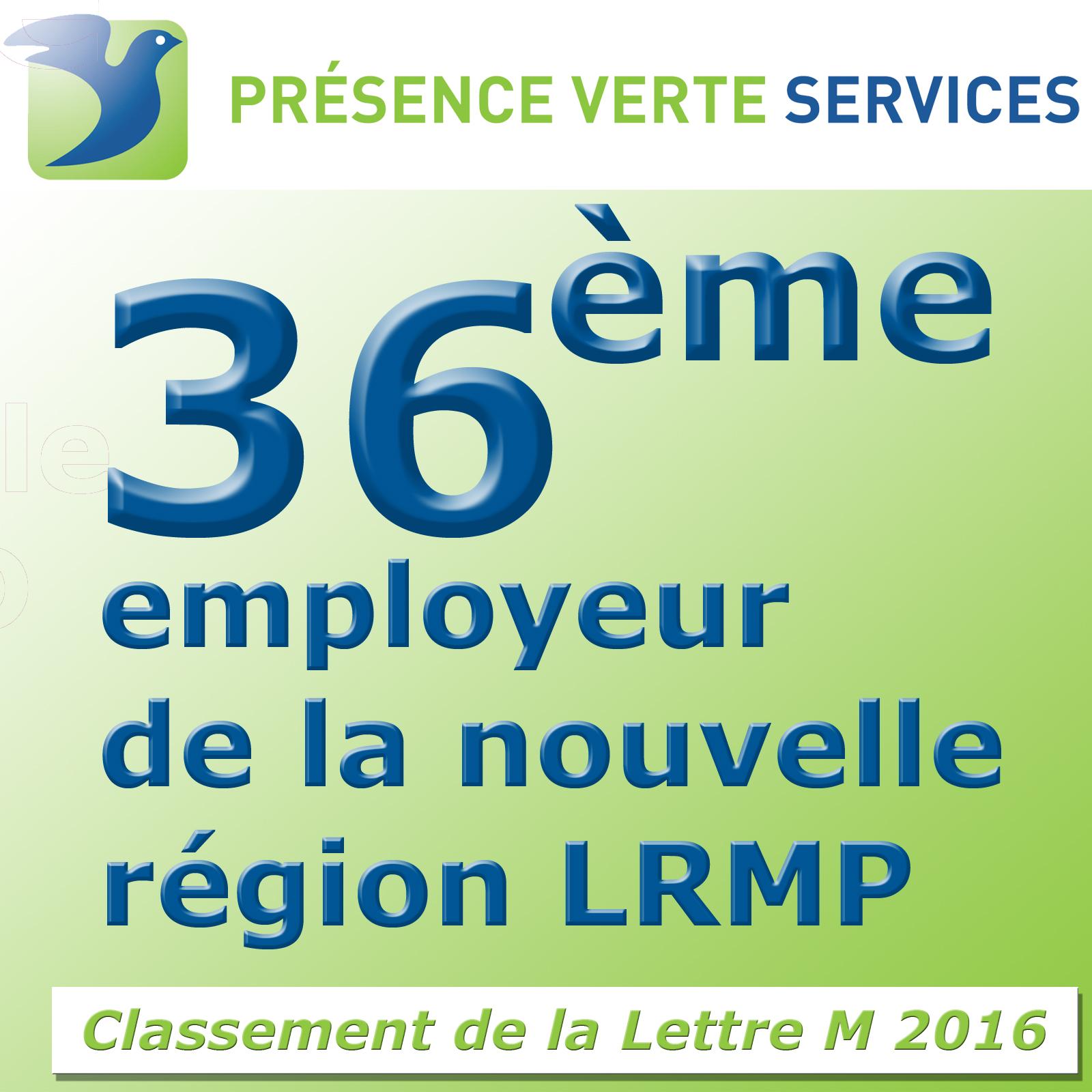 Classement employeur LRMP