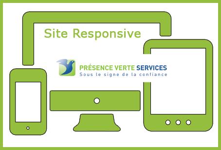 Nouveau site responsive