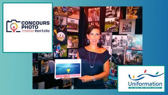 2ème Prix au concours UNIFORMATION