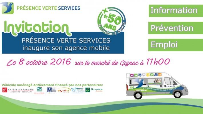 Inauguration Agence Mobile