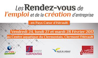 Les rendez-vous de l'Emploi : 24 février 2017 – job datings Clermont l'Hérault