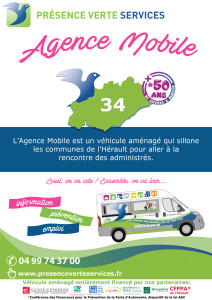 affiche agence mobile