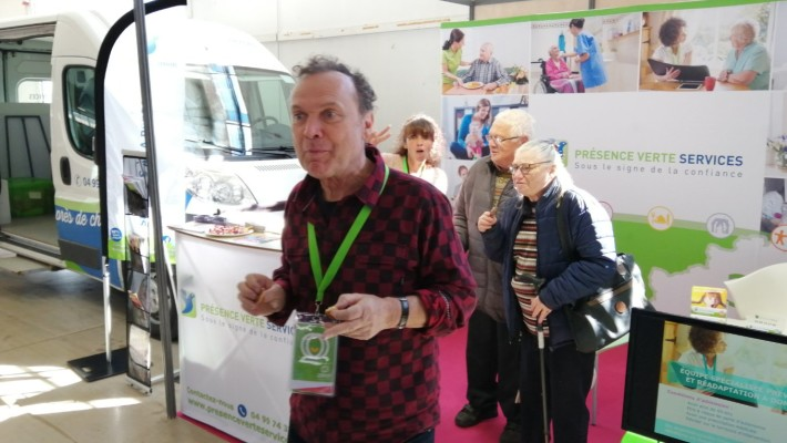 Participation au Salon des Seniors 2019 au Parc Expo de Montpellier