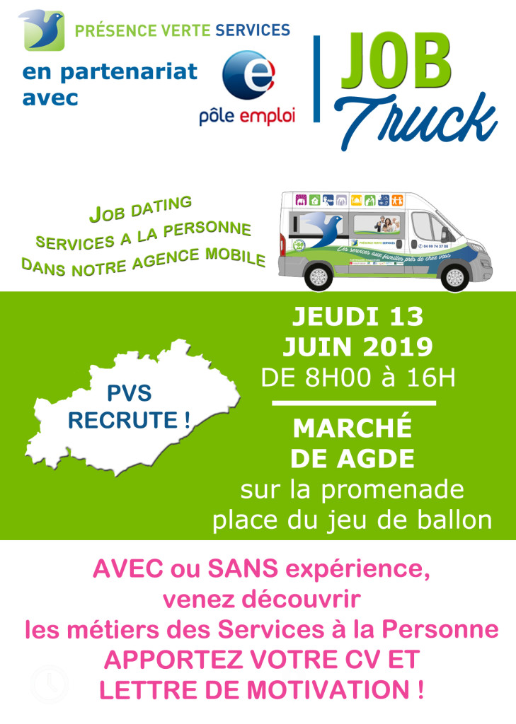 affiche truck dating AGDE 13.06.19