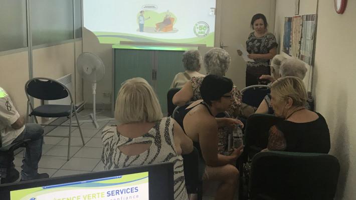 Des ateliers nutrition interactifs !
