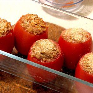 Tomates farcies livraison de repas